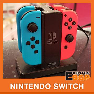 Nintendo Switch consola con puesto de juego completo en Eventos BGP