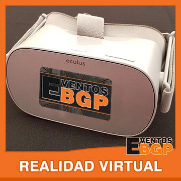 Realidad Virtual en actividades de ocio alternativo con Eventos BGP.