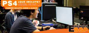 Consolas PS4 y videojuegos en Eventos BGP