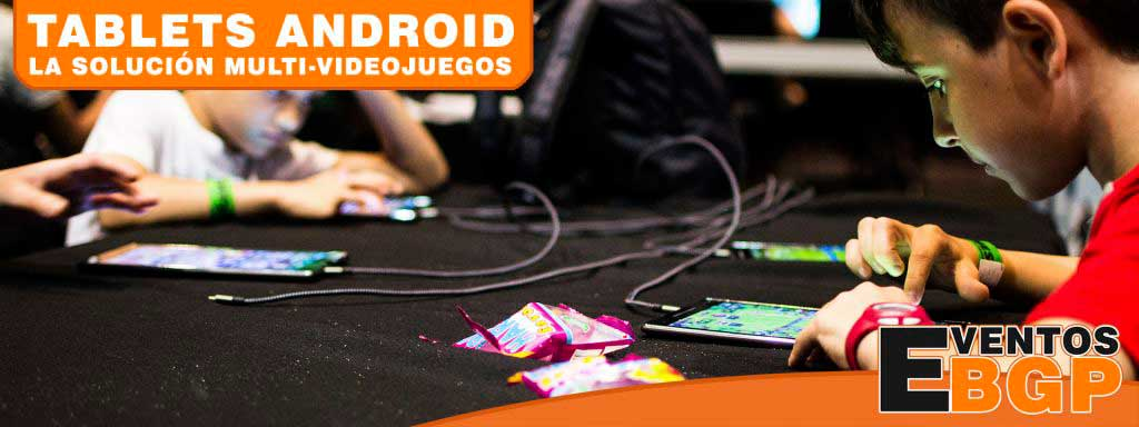 Alquiler Tablets ASUS Android - Torneos de Hearthstone