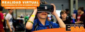 Alquiler VR Realidad virtual y videojuegos de última generación