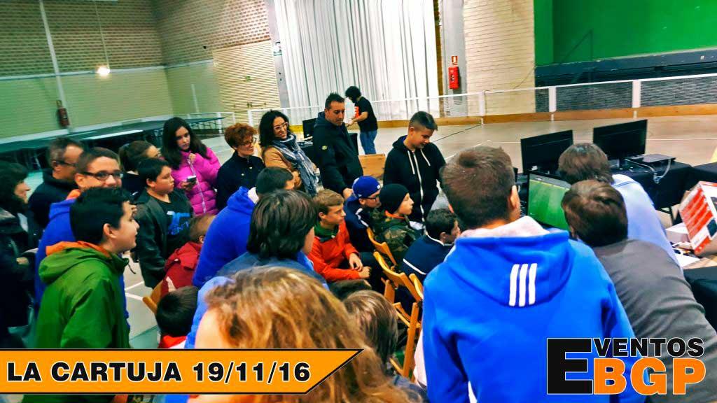 CJ Cartuja - Evento Casa de Juventud con Just Dance 17