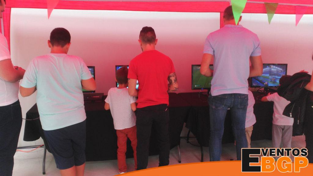 Eventos de consolas y alquiler videojuegos en casas de juventud IDE Electronic