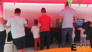 Eventos de videojuegos y alquiler consolas en casas de juventud