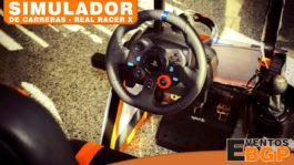 Alquiler de simuladores para eventos con Real Racer X