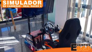 Simulador de carreras Real Racer X