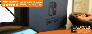 Nintendo Switch diversión para toda la familia.