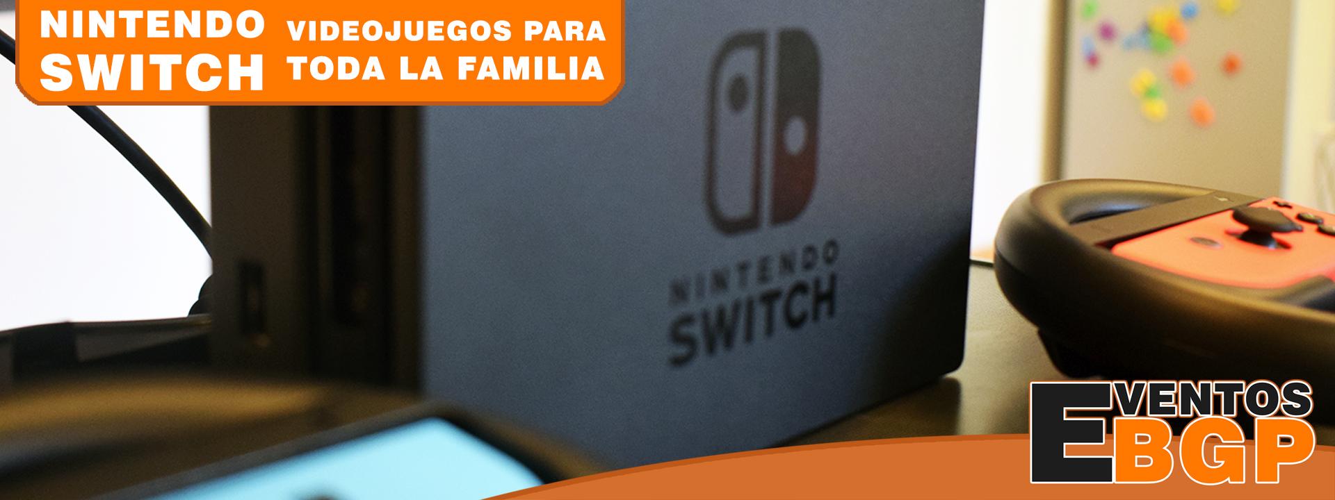 Nintendo Switch alquiler videojuegos para toda la familia