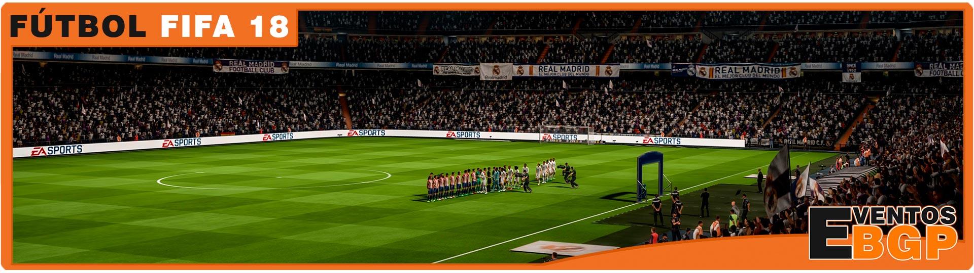 Banner Videojuegos Fútbol Playstation 4 PS4 Torneo FIFA 18