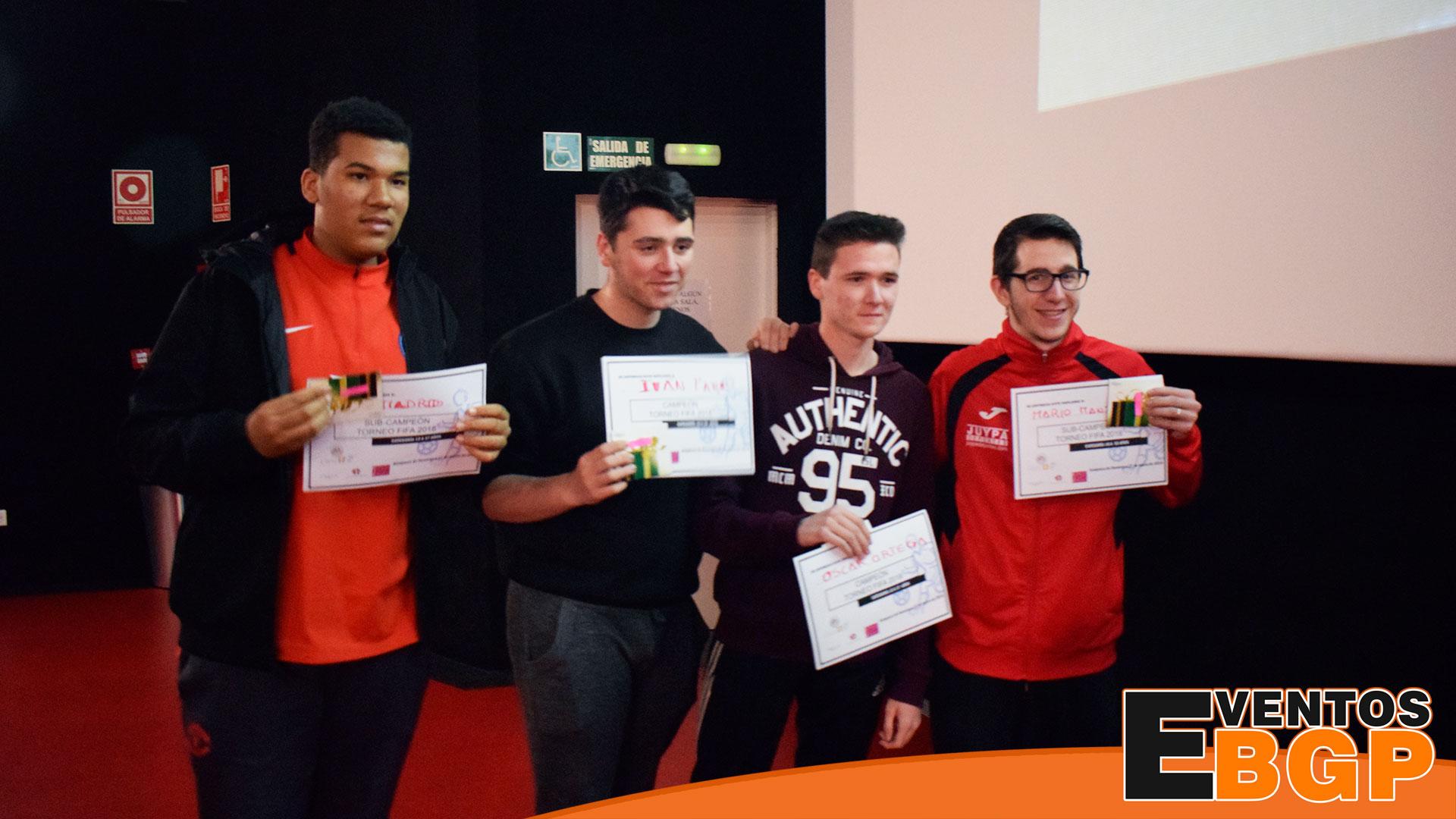 Vencedores del torneo de FIFA 18.