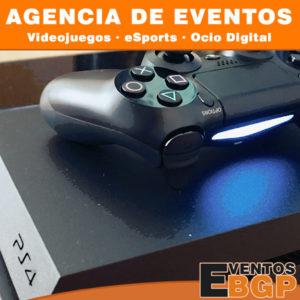 Agencia de Eventos, Videojuegos, eSports y Ocio Digital.