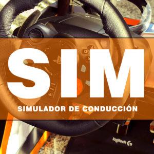 Imagen individual Simulador de conducción.