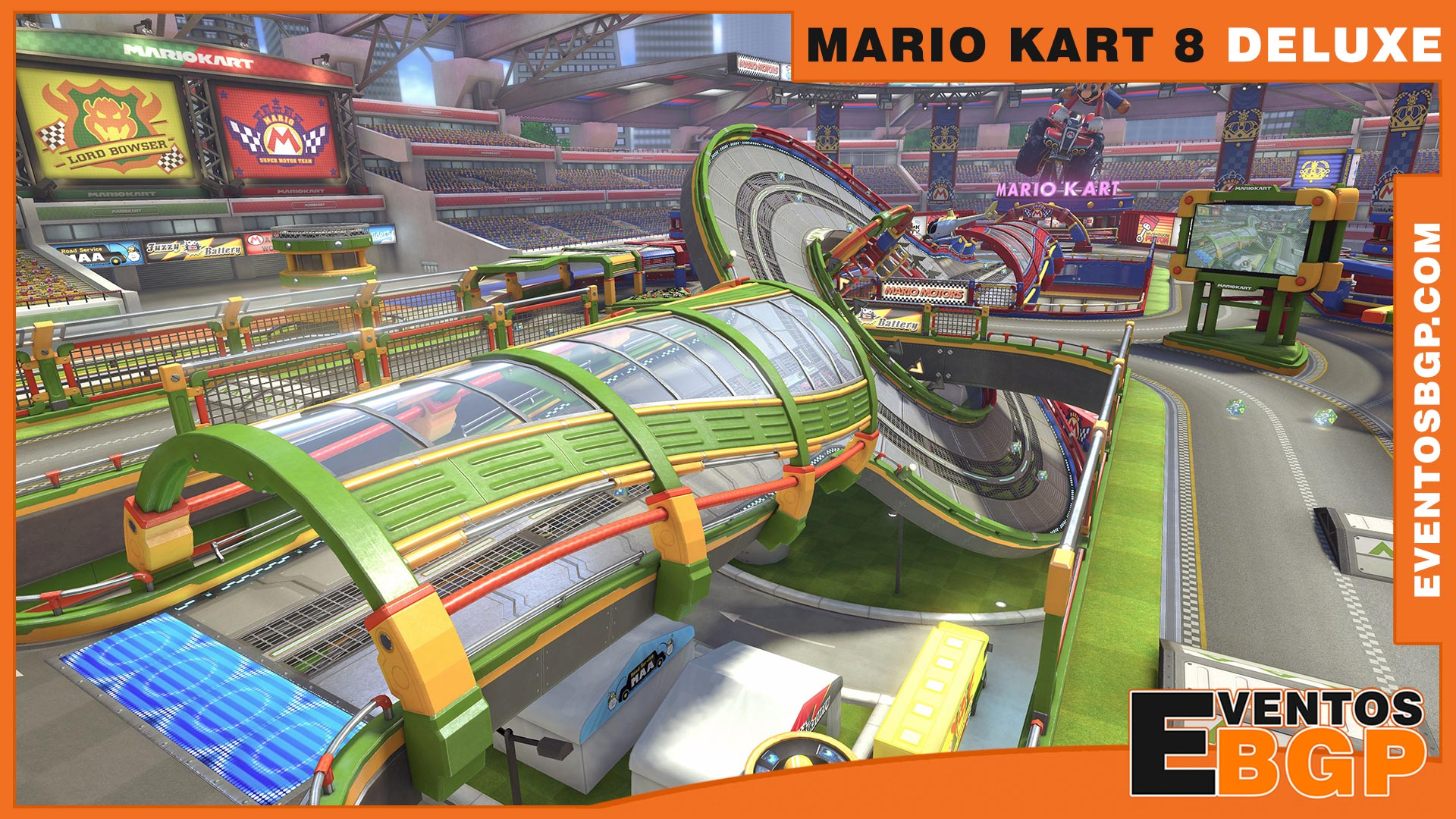 mario kart 8 deluxe wallpaper