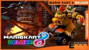 Banner de Mario Kart 8 Deluxe Videojuego de Carreras