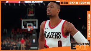 Banner de NBA 2k18 Baloncesto.