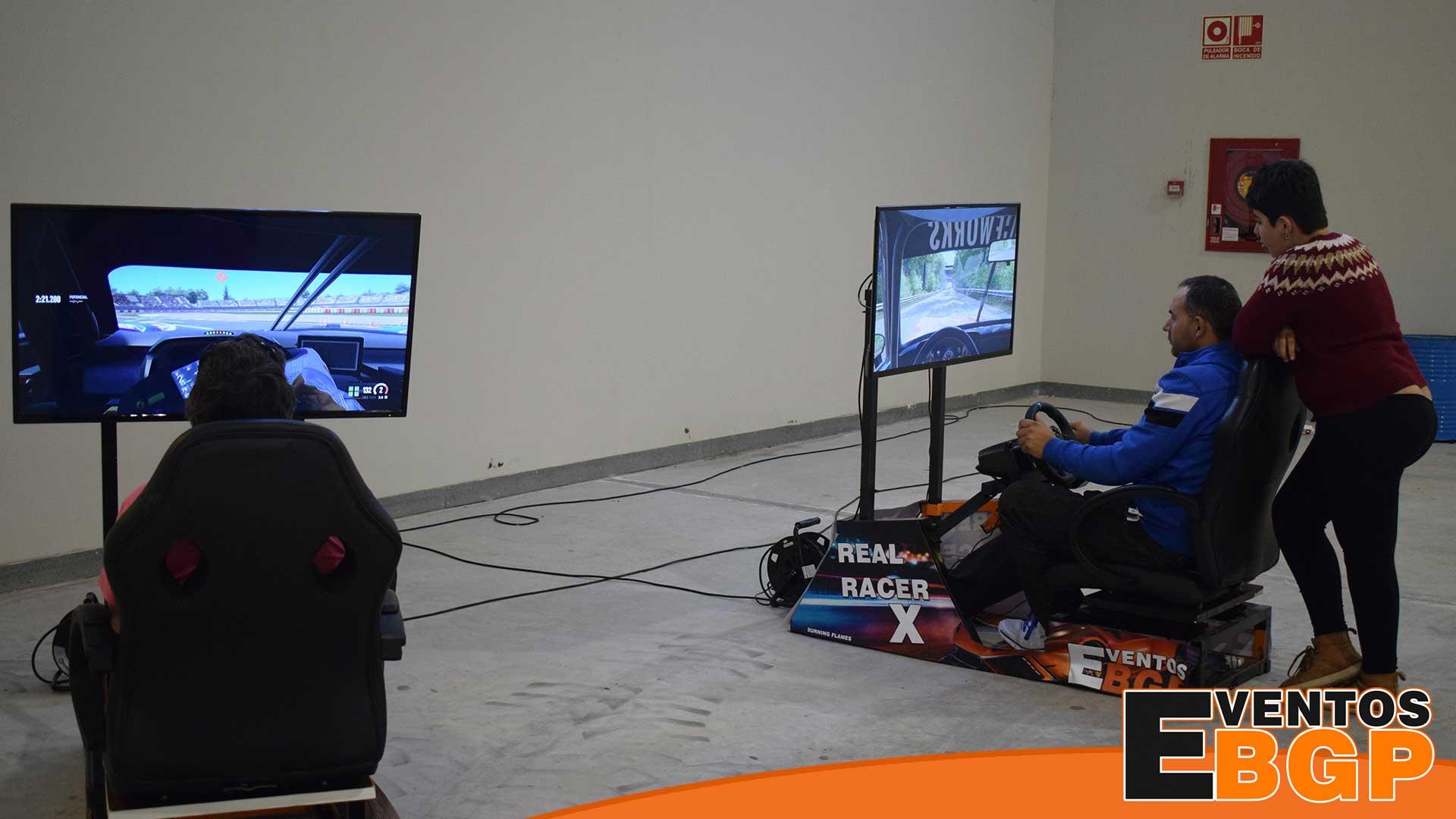 Ejea Feria del Motor Clásico con Simuladores de conducción