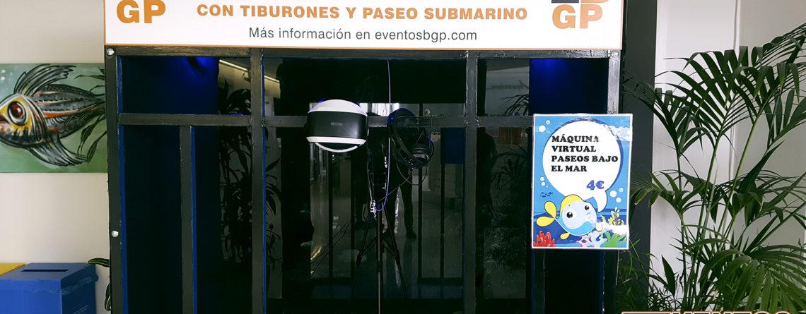 Experiencia VR Acuario de Zaragoza con jaula