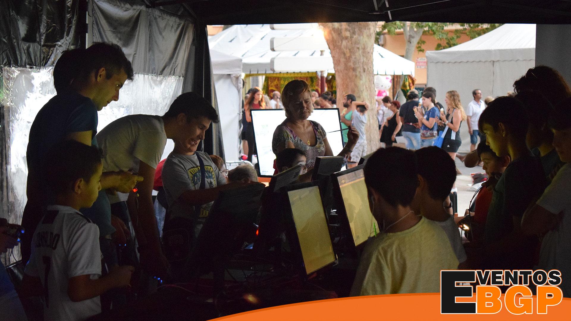 Evento feria de verano en Xátiva con Videojuegos