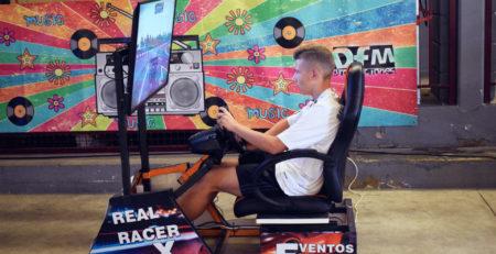Simulador de conducción de Rurales Jóvenes en Movera