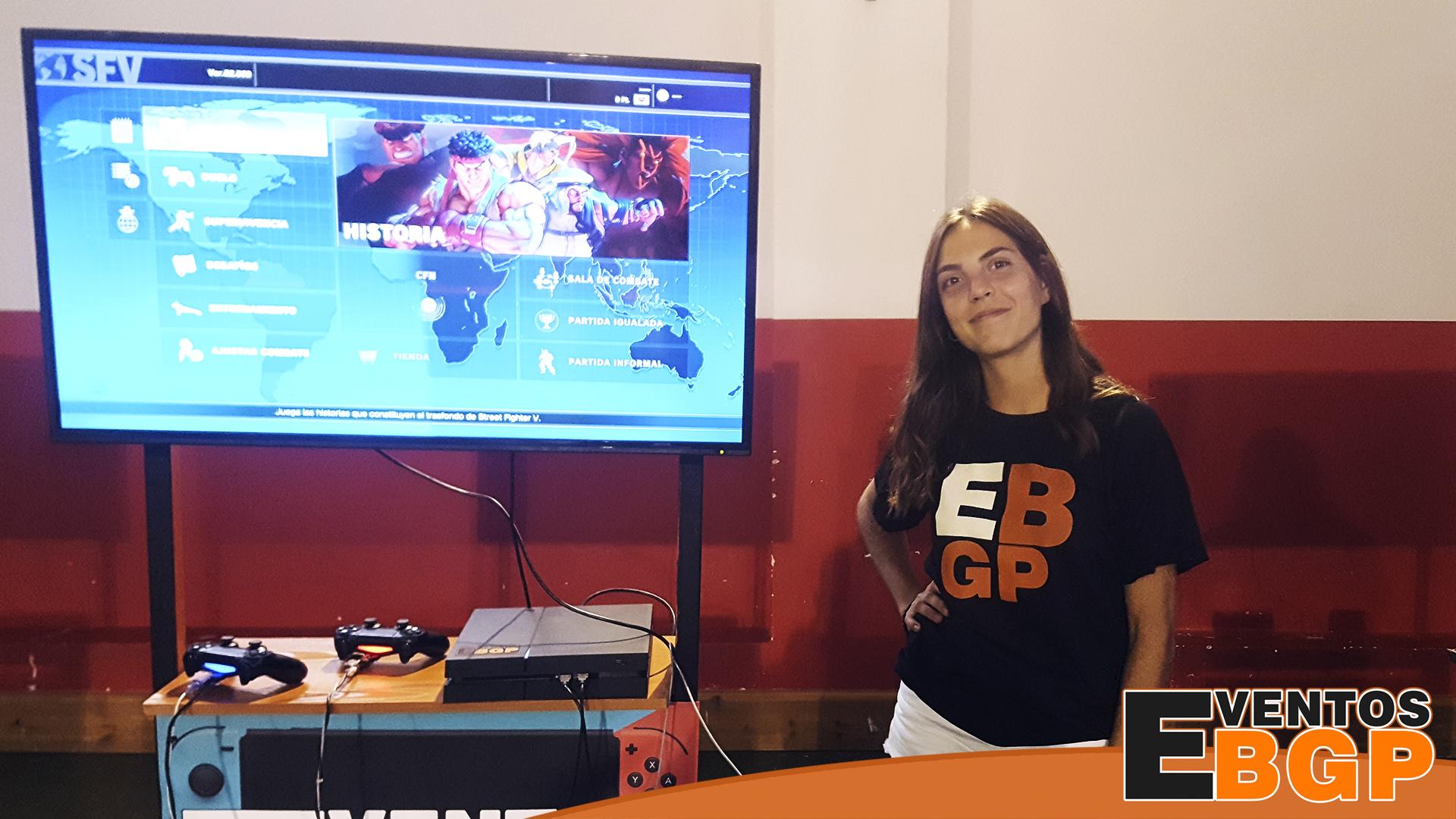 Fotografía del mes con Ines en Eventos BGP. Diminutivo de EBGP.