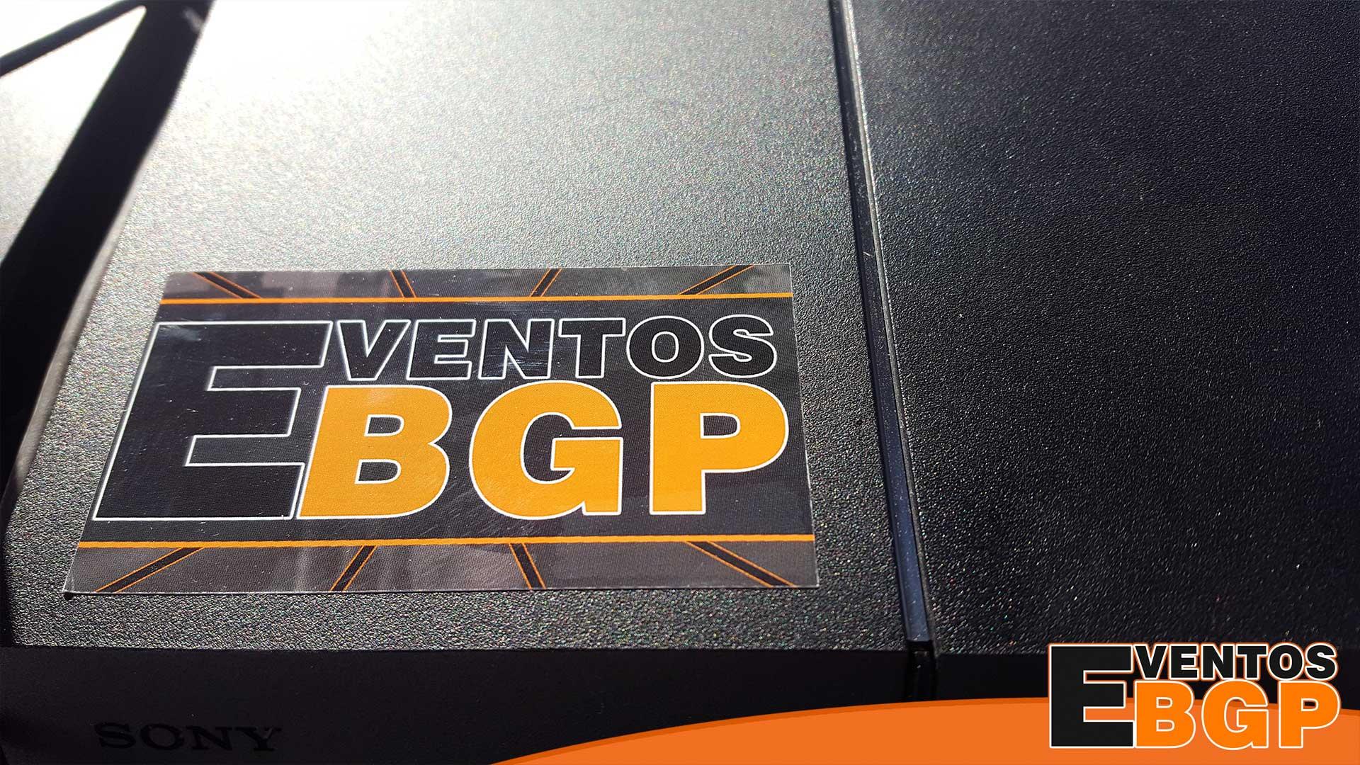 Fotografía de la marca Eventos BGP con logotipo.