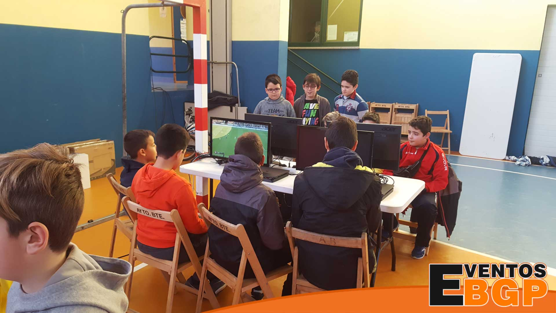 Benavente evento con videojuegos actividades para jóvenes con Eventos BGP.