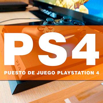Consolas PS4 PlayStation 4 con videojuegos FIFA y más.