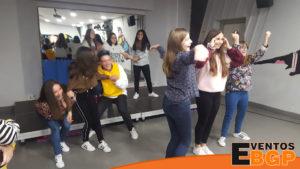 Irun evento con Videojuegos y baile Just Dance de Eventos BGP.