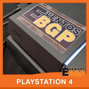 Banner puesto de juego PlayStation 4