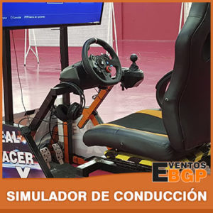 Banner puesto de juego Simulador de Conducción