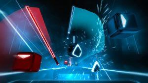 Beat Saber videojuego de moda en realidad virtual con Eventos BGP