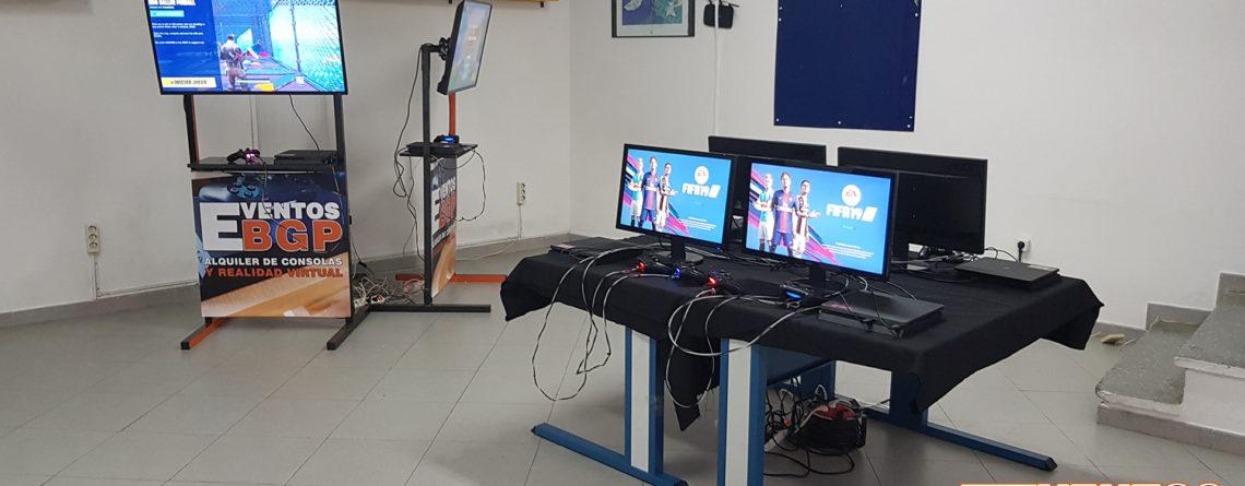 Alcala del Rio, Sevilla, Evento en el SUR de España con consolas y videojuegos.