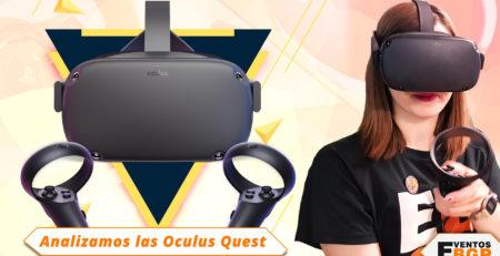 Analizamos las últimas Gafas VR de Oculus: Quest