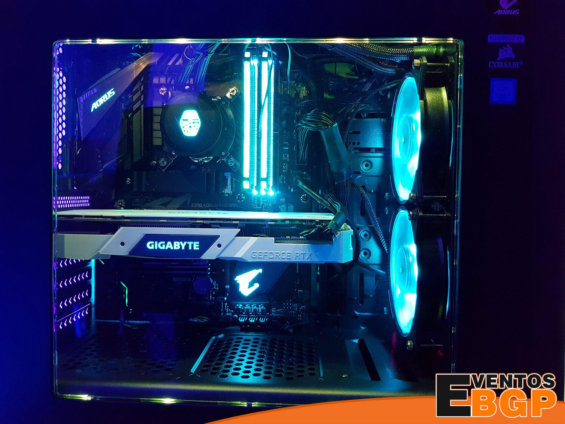 PC Gaming por dentro, desmontaje de piezas