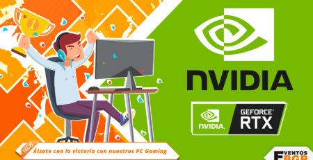 Álzate con la victoria con nuestros nuevos PC Gaming