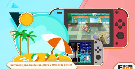 Imagen de Verano, sol, playa y Nintendo Switch