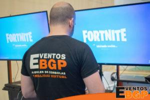 Centros comerciales con Fortnite y videojuegos
