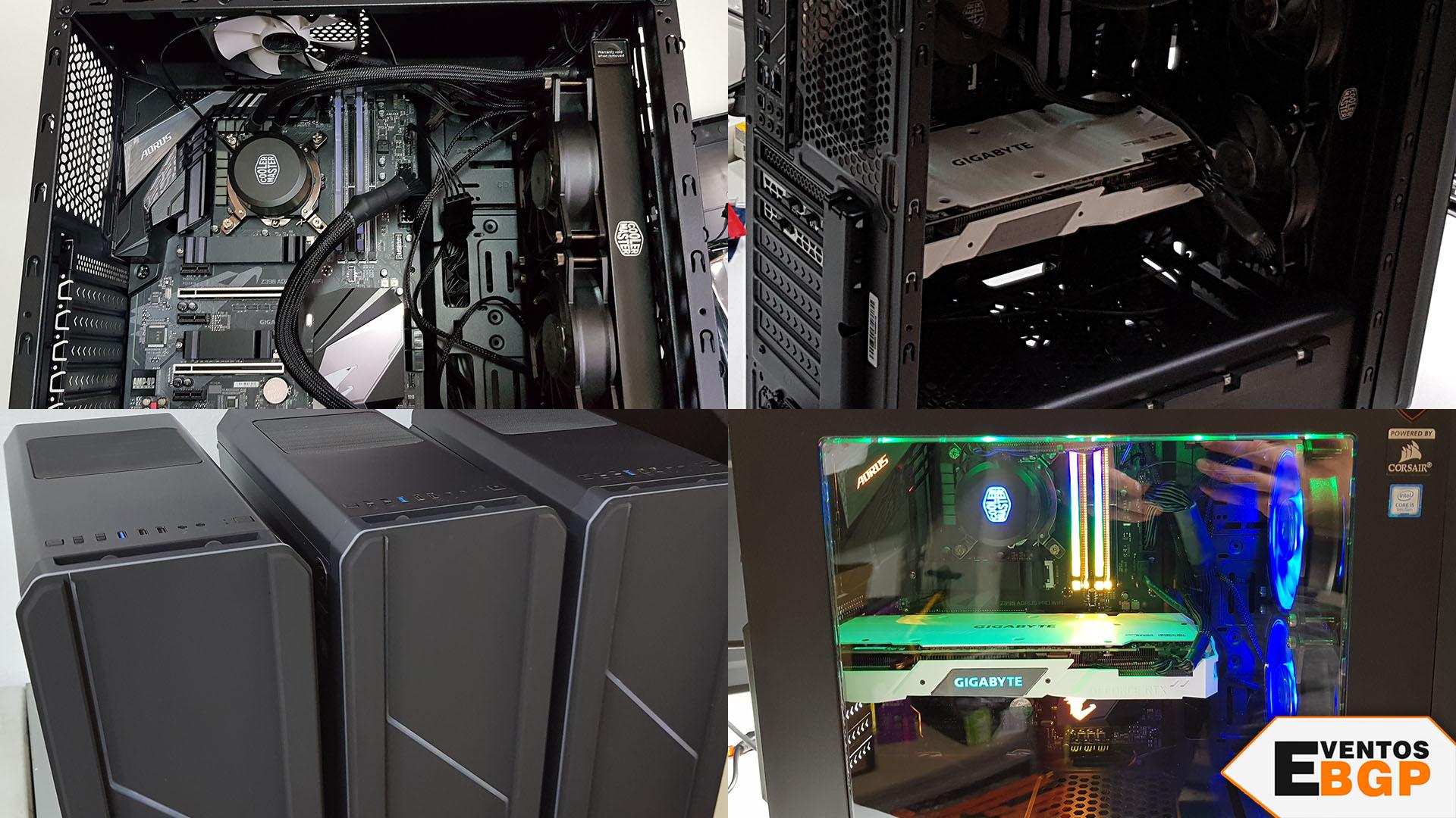 Pasos del montaje de un ordenador gaming como novedad