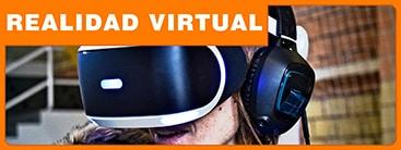 Alquiler Gafas VR con experiencias virtuales y videojuegos.