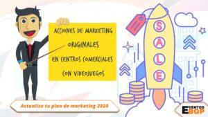 Acciones de marketing originales en centros comerciales