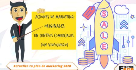 Acciones de marketing originales en centros comerciales