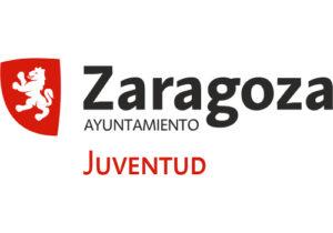 Logotipo cuadrado del ayuntamiento de Zaragoza juventud