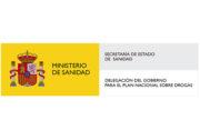 Logotipo cuadrado del ministerio de sanidad de España