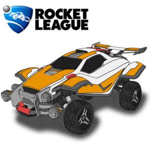 Torneo online de Rocket League en formato 2 vs 2